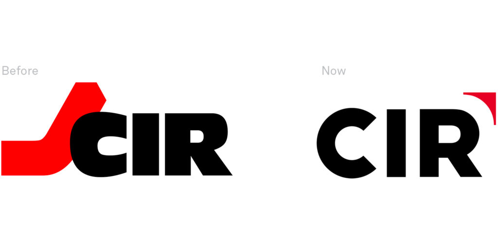 CIR Logo - before and next