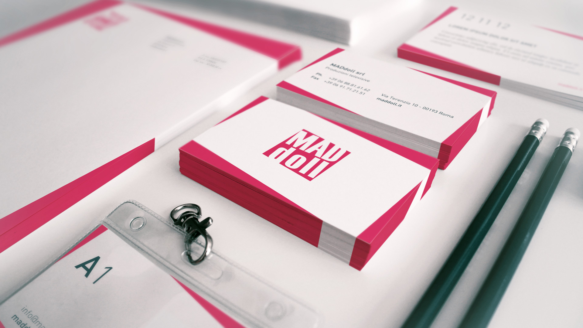 Mad Doll – Business Card